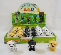 "2"" Light Up Key Chain with Sound Effects [DOG]"